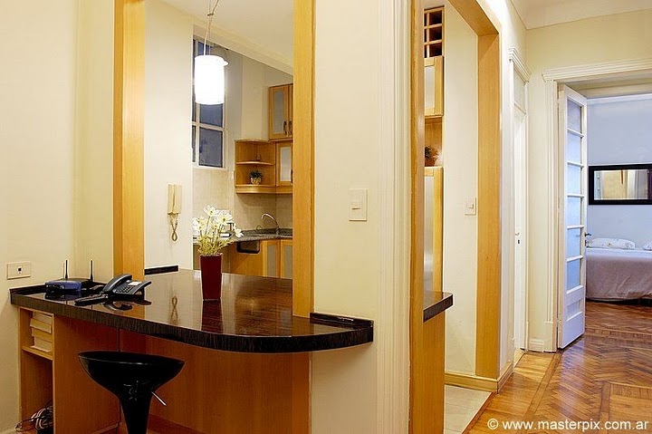 Recoleta apartment entry hall image