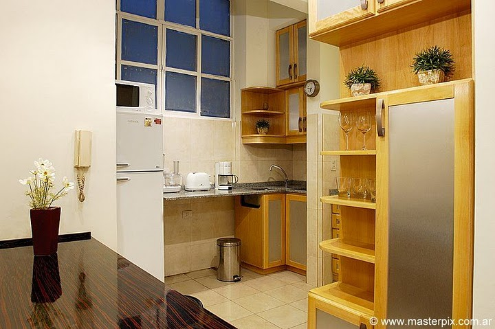 Recoleta apartment kitchen image