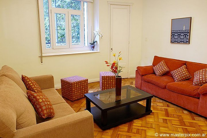 Recoleta apartment living room image