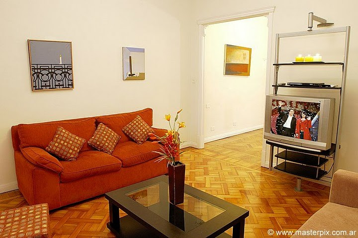 Recoleta Apartment living room 2 image