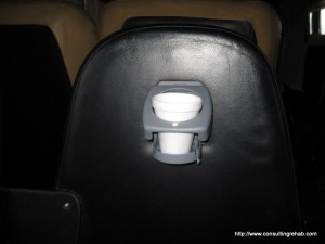 Flecha Bus cup holder image