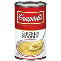 Campbell's chicken noodle soup image