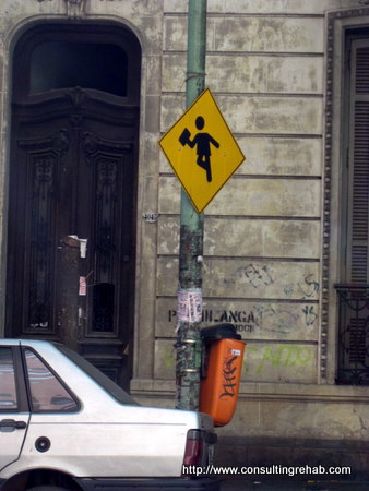 Buenos Aires Street Sign Image