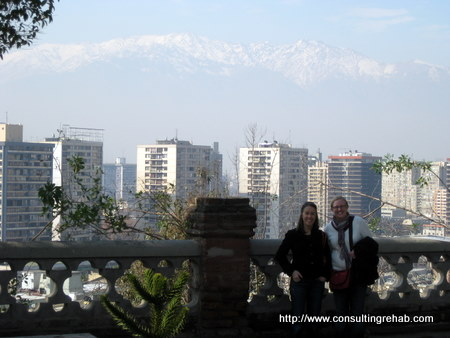 Santiago, Chile Andes views images