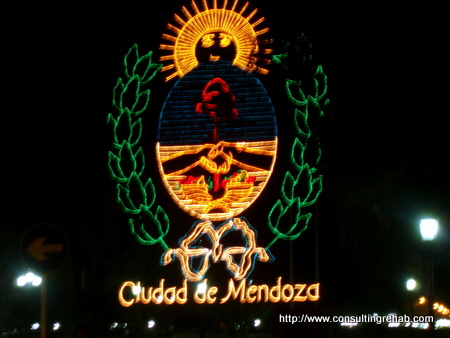 Welcome to Mendoza sign image