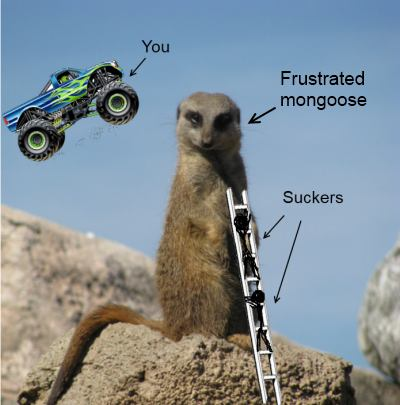 Monster Truck Mongoose Jump image