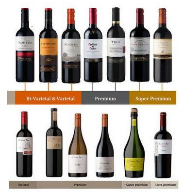 Concha y Toro wine brands
