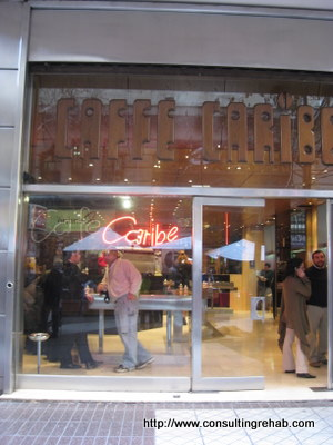 Stand-up coffee bars in Santiago image